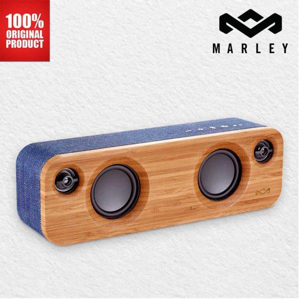 Marley - Get Together Mini Bluetooth Speaker - Denim
