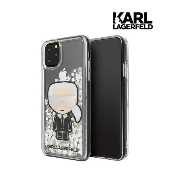 Karl Lagerfeld Liquid Glitter Iridescent Case - Casing IPhone 11 Pro Max 6.5