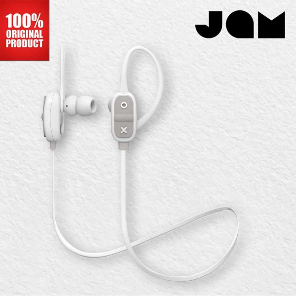 Jam Audio Earphones Bluetooth Live Large Grey Earphones Wireless Jam Audio Earphones Jam Audio