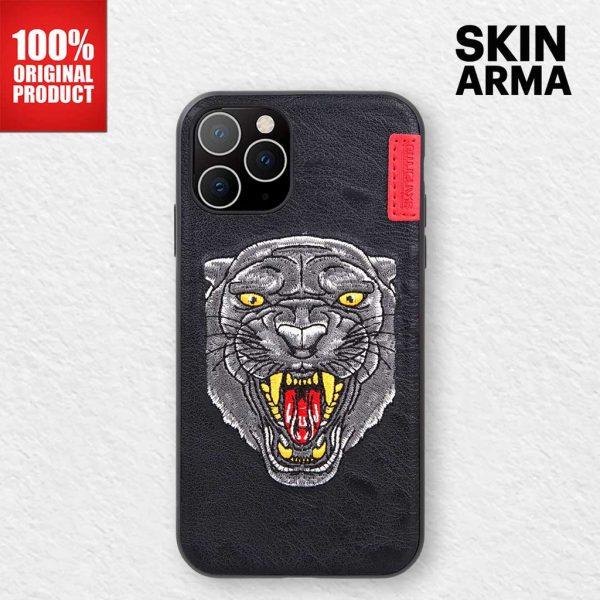 Skinarma Predator Pantheria Leather Case - Casing IPhone 11 Pro Max 6.5