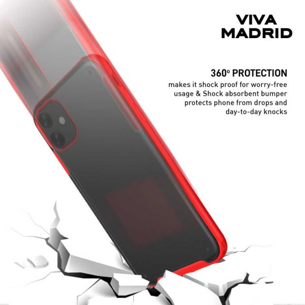 Viva Madrid Vanguard shield Frost Case Black - Casing IPhone 11 Pro 5.8