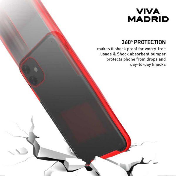 Viva Madrid Vanguard shield Frost Case Black - Casing IPhone 11 6.1