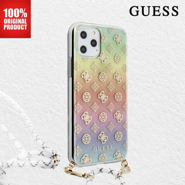 Guess Electro Iridescent Strap Case Multico - Casing IPhone 11 Pro Max 6.5 Casing Guess