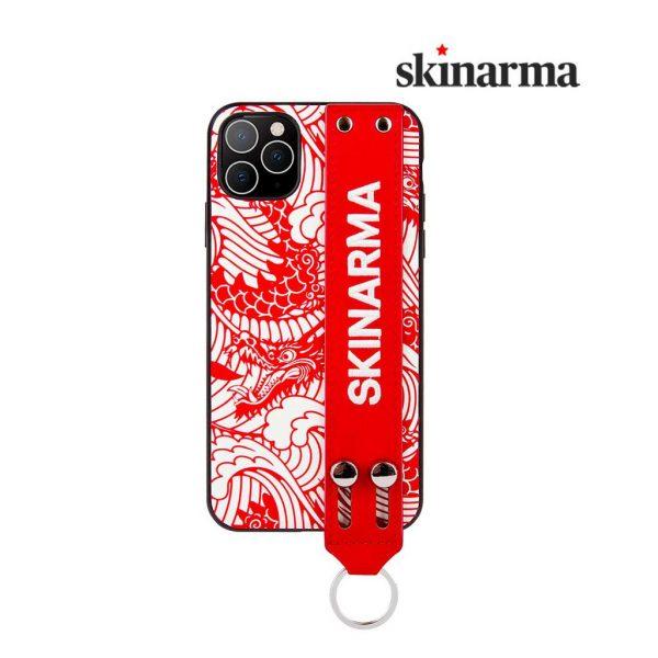Skinarma Yasei Strap Case Red - Casing IPhone 11 Pro 5.8