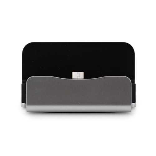 Sicron Charge and Sync Dock - USB Micro 5 Pin - Silver