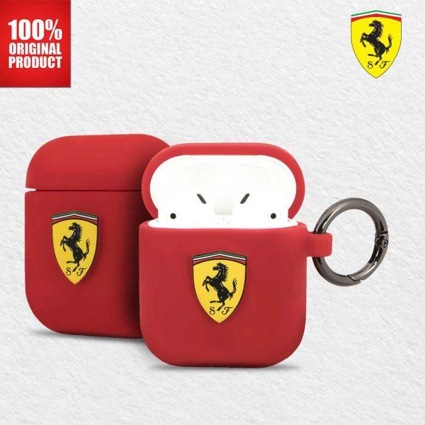 Ferrari On Track Airpods Silicone Case