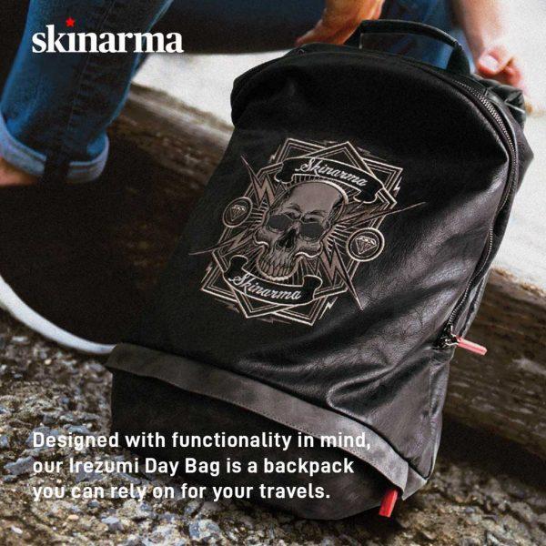 Skinarma Irezumi Day Backpack Oni Tas Punggung Oni Ransel Skinarma