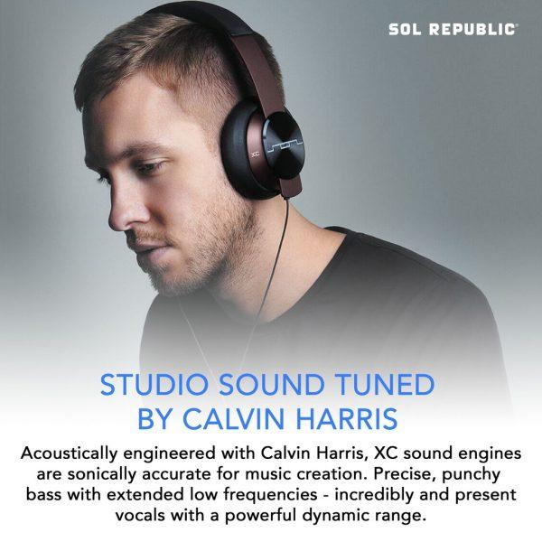 Headphone Sol Republic Master Tracks Calvin Harris Limited Edition - Red