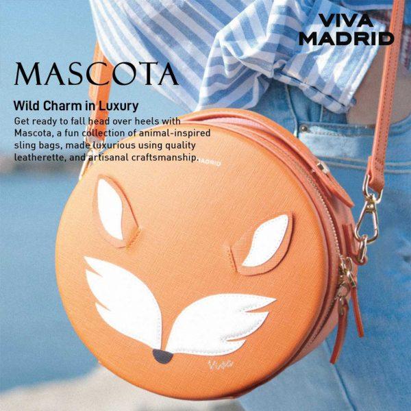 Viva Madrid Mascota Sling Bag - Hunny bunny