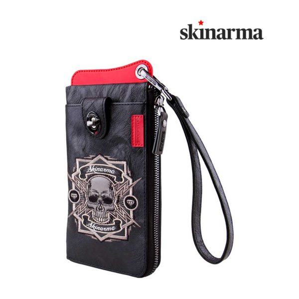 Dompet Kulit Dompet HP Original Skinarma Irezumi Travel Wallet Outlaw - Black