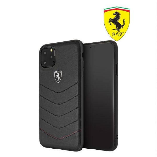 Ferrari Heritage Quilted Leather Case - Casing iPhone 11 Pro Max 6.5