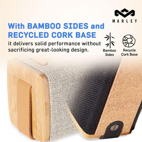 House of Marley Riddim Bluetooth Speaker Natural Speaker Marley