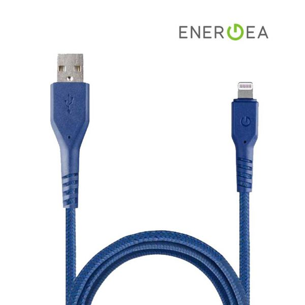 Energea Fibratough Sync Cable 8 Pin 1.5m Blue