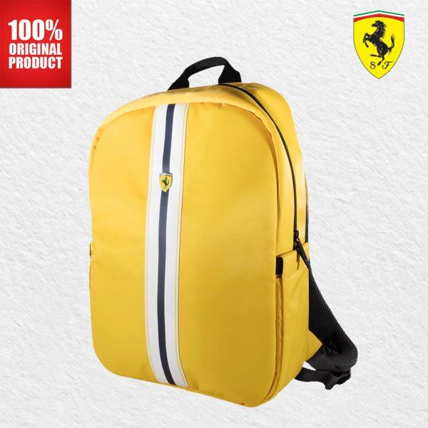 Ferrari Backpack Pista On Track Logo 15 Tas Ferrari
