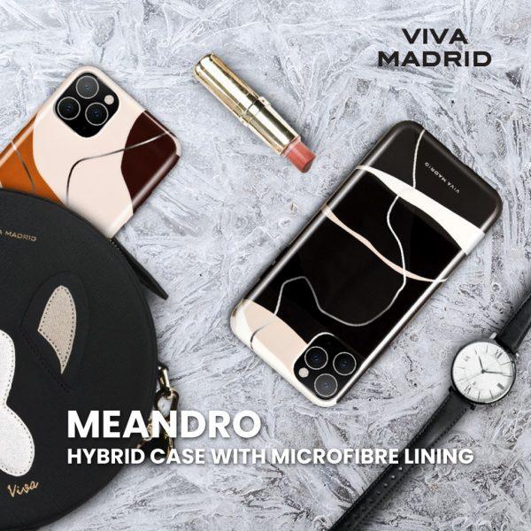 Viva Madrid Meandro Case Mono Black - Casing IPhone 11 Pro 5.8