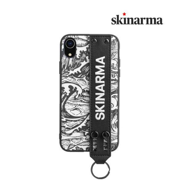 Skinarma Kozui Leather Case Black - Casing iPhone XR