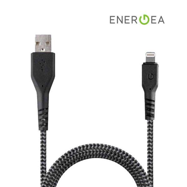 Energea Fibratough Sync Cable 8 Pin 1.5m Black