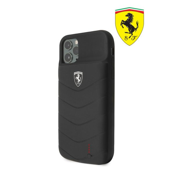 Ferrari Power Case Full Cover 4.000 MaH Black - Casing IPhone 11 Pro 5.8