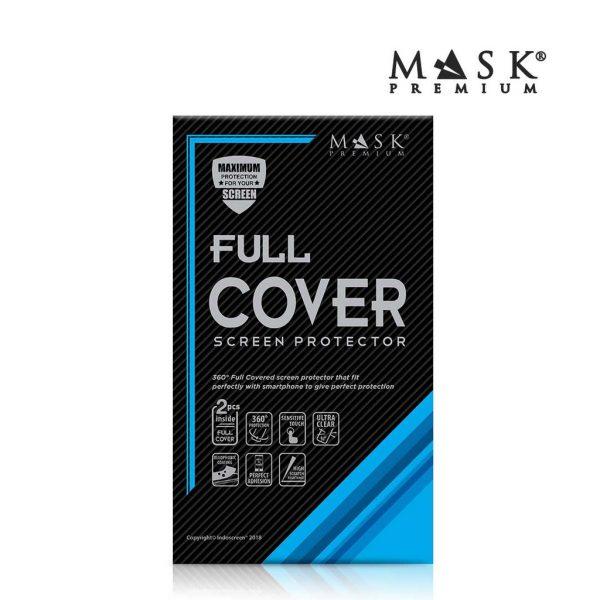 Mask Premium TPU Full Cover - Anti Gores Screen Guard Samsung Galaxy S8 Plus (F.Set)