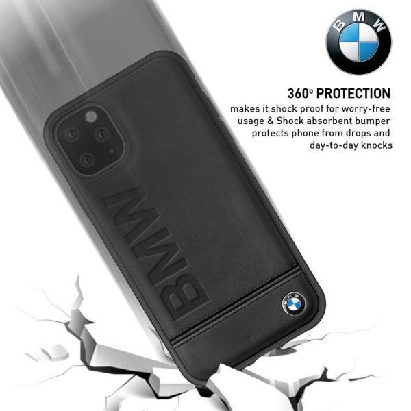 BMW - Imprint Signature Backcase Case Black - Casing IPhone 11 Pro 5.8 Casing BMW