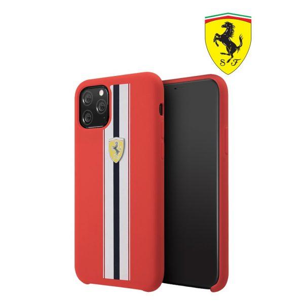 Ferrari On Track Pista Silicon Case Red - Casing IPhone 11 Pro Max 6.5
