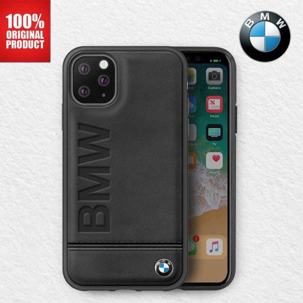 BMW - Imprint Signature Backcase Case Black - Casing IPhone 11 Pro Max 6.5