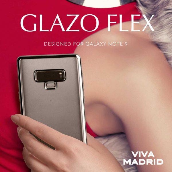 Viva Madrid Glazo Flex Jet Black Case - Casing Samsung Galaxy S10 Plus