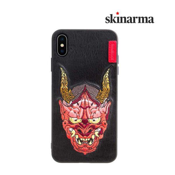 Skinarma Irezumi leather Case Oni - Casing IPhone XR