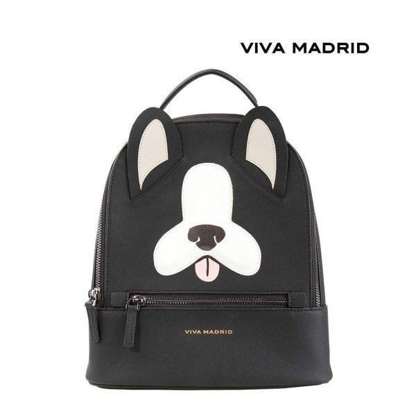 Viva Madrid Mascota Backpack Woof It Up Tas Ransel Gambar Anjing