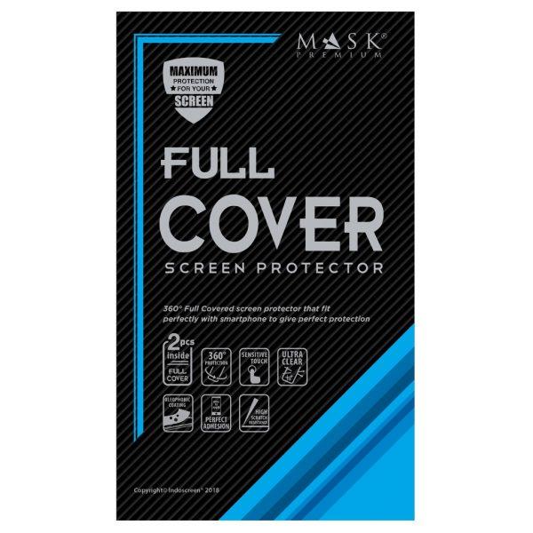 Mask Premium TPU Full Cover - Anti Gores Screen Guard Samsung Galaxy S7 Edge (F.Set)
