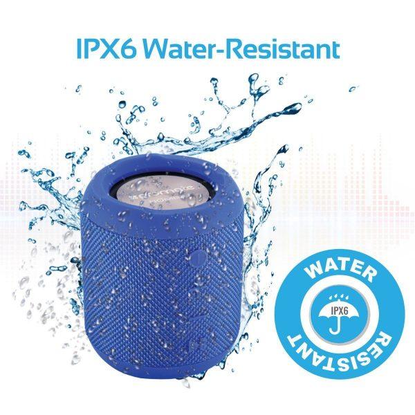 Wireless Bluetooth Speaker Waterproof Biru PROMATE