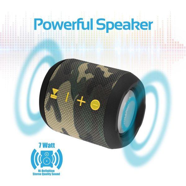 Wireless Bluetooth Speaker Waterproof Camo PROMATE