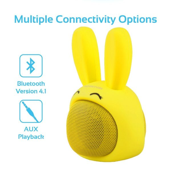 Premium Wireless Bluetooth Speaker Kuning PROMATE