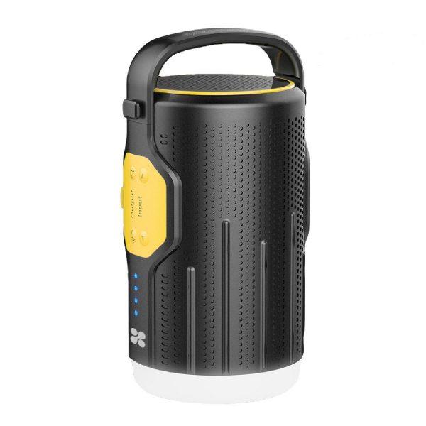 Power Bank Bluetooth Wireless Speaker LED CampMate Kuning PROMATE