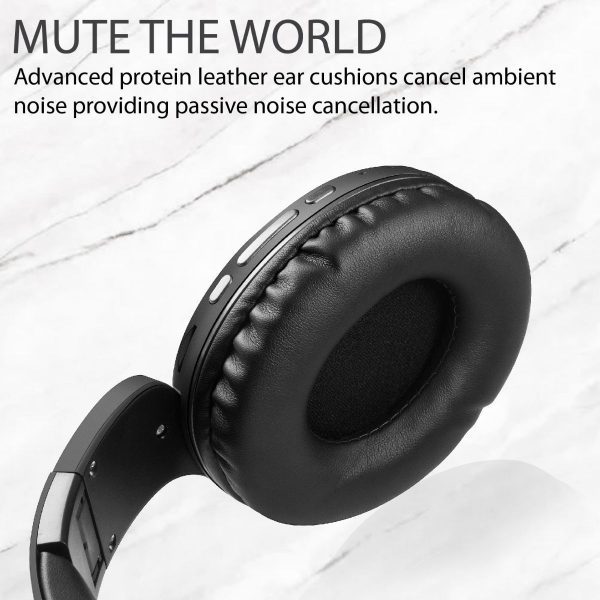 Wireless Bluetooth Headphone Stereo On Ear Abu-abu PROMATE