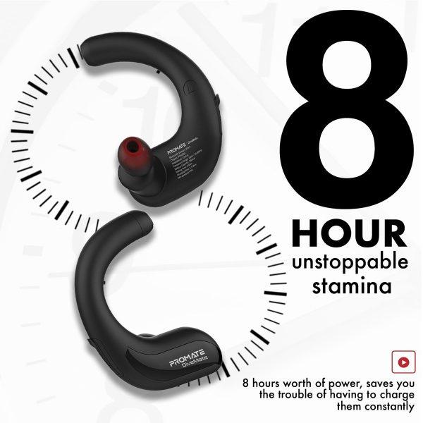 Wireless Bluetooth Headset Waterproof Stereo PROMATE