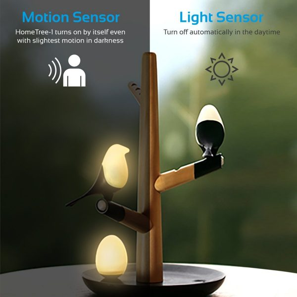 Lampu LED Malam Tidur HomeTree PROMATE
