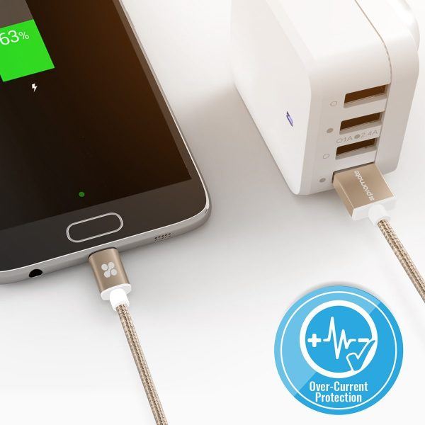 Kabel Data Charger Micro USB linkMate Gold PROMATE