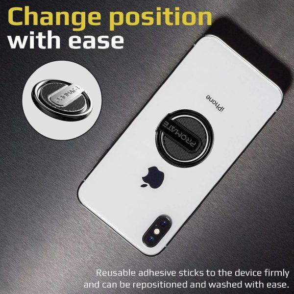 Ring Phone Holder RinGrip Hitam PROMATE