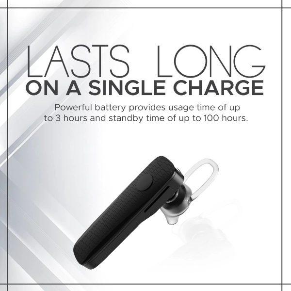 Wireless Bluetooth Earphone Mono In Ear Hitam PROMATE