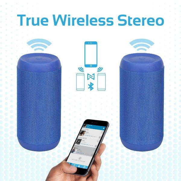 Waterproof Wireless Bluetooth Speaker Biru PROMATE