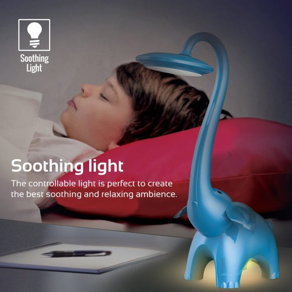 Lampu Malam Tidur Belajar LED Biru PROMATE