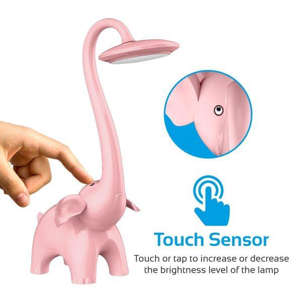 Lampu Malam Tidur Belajar LED Pink PROMATE