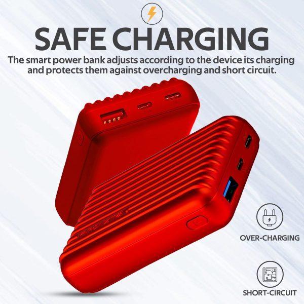Power Bank 10000 mAh Titan Merah PROMATE