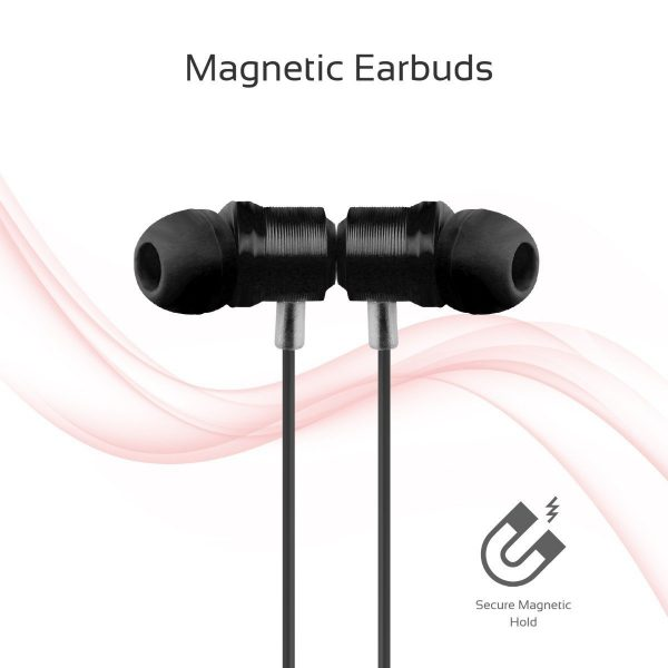 Wired Earphone Stereo Hitam PROMATE