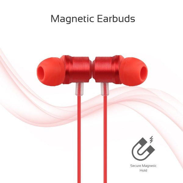 Wired Earphone Stereo Merah PROMATE