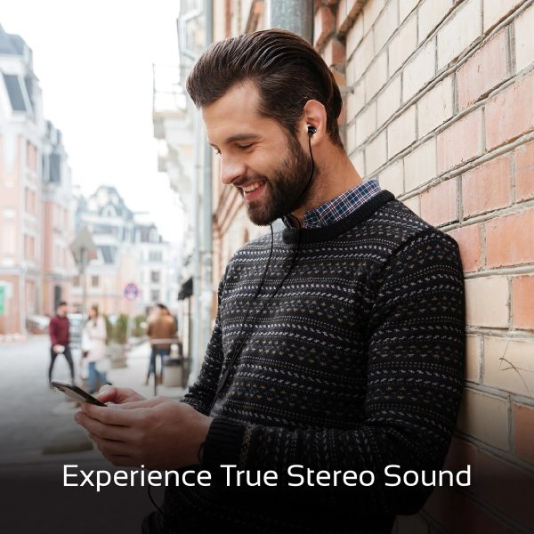 Wired Earphone Stereo TuneBuds Hitam PROMATE