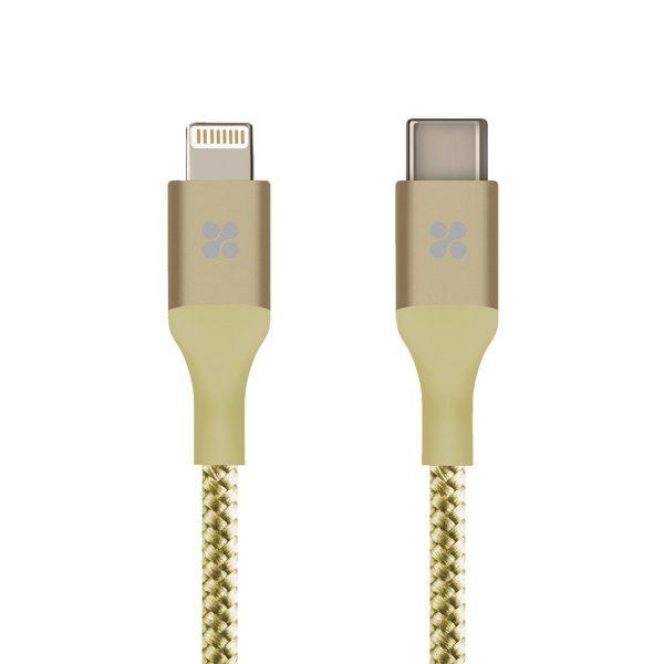 Kabel Data OTG iPhone USB Type C uniLink Gold PROMATE