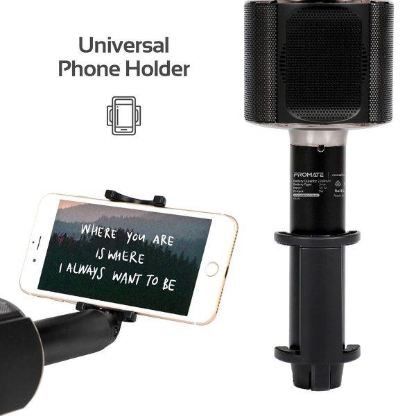 Karaoke Microphone VocalMic Hitam PROMATE