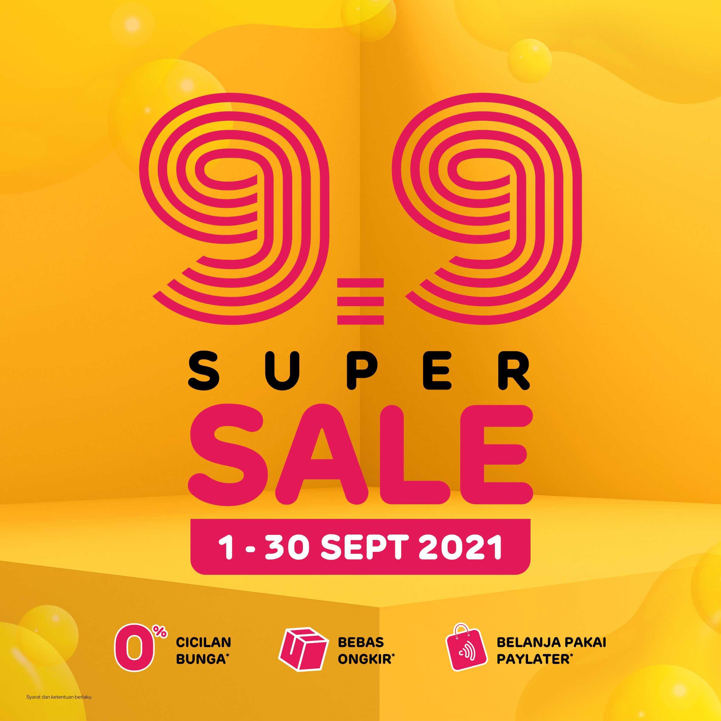 9.9 Super Sale